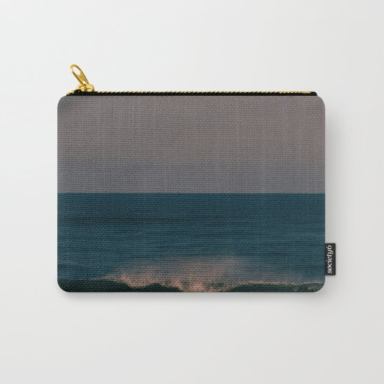 Winter Wave Carry-All Pouch