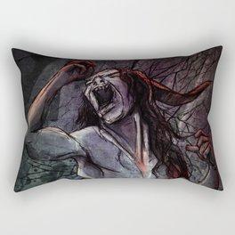 Black Ice Rectangular Pillow