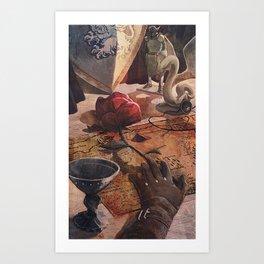 Alistair's Rose Art Print