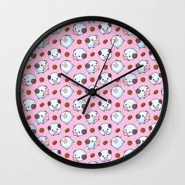 Pink Poros Wall Clock