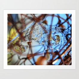 Tangled Landscape #1 Art Print