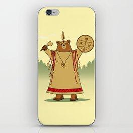 Bear Shaman iPhone Skin
