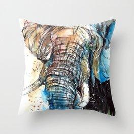 African Giant Throw Pillow