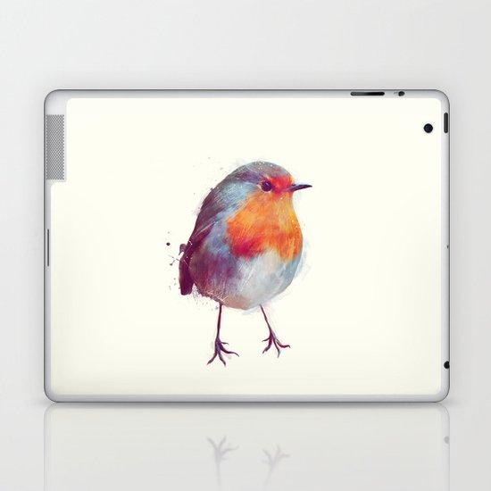 Winter Robin Laptop & iPad Skin