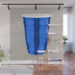 CLARITY CUP BLUE (BIG) Wall Mural