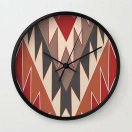 American Native Pattern No. 175 Wall Clock
