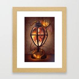 The Dragon Lantern Framed Art Print