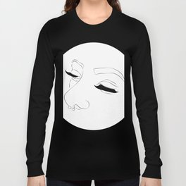 Lashes and nose rings Long Sleeve T-shirt