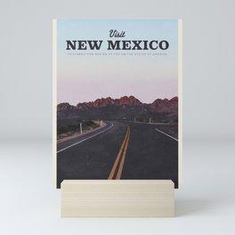 Visit New Mexico Mini Art Print