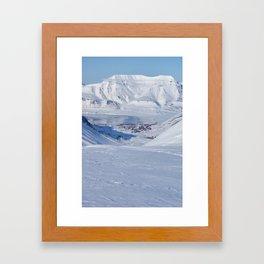 Svalbard Longyearbyen Framed Art Print