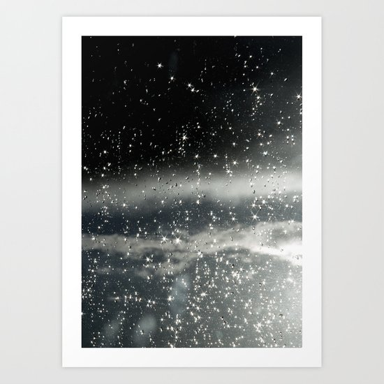 touching space Art Print