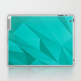 Geo Teal Laptop & iPad Skin
