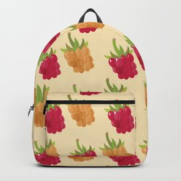 Red and Yellow Raspberries Backpack