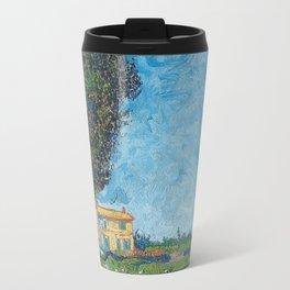 Vincent Van Gogh - Allee bei Arles Travel Mug