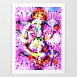 GANESH PEACE Art Print