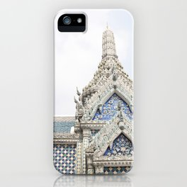 Painted Tiles in the Grand Palace iPhone Case