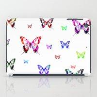 butterflies iPad Cases featuring Butterflies. by haroulita