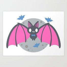 Bats! Art Print