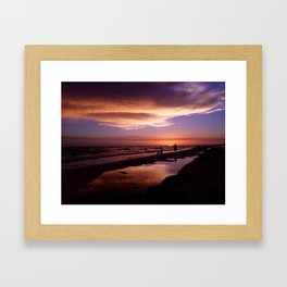 just another sunset Framed Art Print