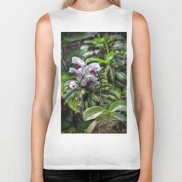 Tropical Orchids Biker Tank