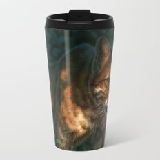 Golden Cat Travel Mug