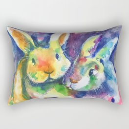Bunny Pals Rectangular Pillow