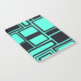 Windows & Frames - Teal Notebook
