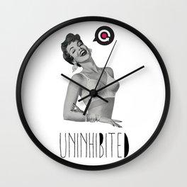 Uninhibited Wall Clock