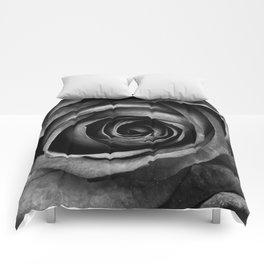 Black Rose Flower Floral Decorative Vintage Comforters
