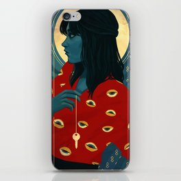 Three of Swords iPhone Skin
