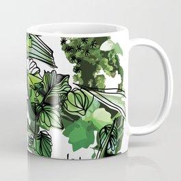 Terrarium Moss Haning Botanical Colorful Floral Flower Home Decoration. Coffee Mug