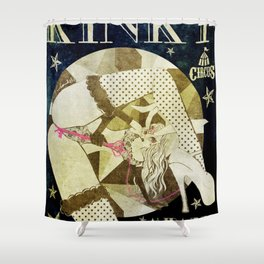 KINKY:Midnight Freak Show Shower Curtain