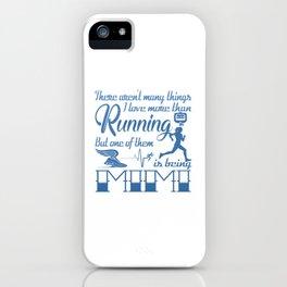 Running Mimi iPhone Case