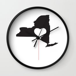 Brooklyn is in Love (BIIL): Support Us Poster Wall Clock