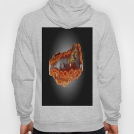 Cady Mountain Dots Plume Agate Hoody
