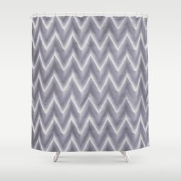 Origami ZigZag Shower Curtain