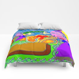 Little fire-eater Comforters