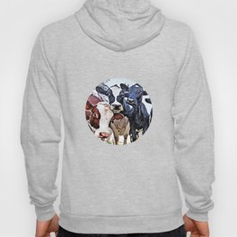 Funny cows Hoody