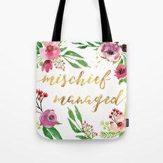 Mischief Managed Garden Tote Bag