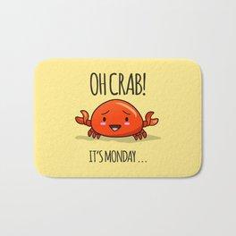 Crabby Day! Bath Mat