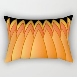 Pumpkin Crown Rectangular Pillow