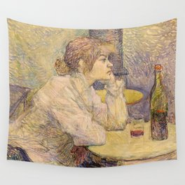 """Henri de Toulouse-Lautrec """"The Hangover (Suzanne Valadon)"""" Wall Tapestry"""
