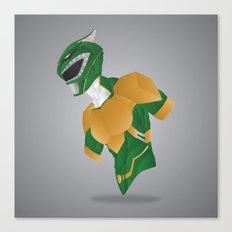 Green Dragon Ranger - Redux Canvas Print