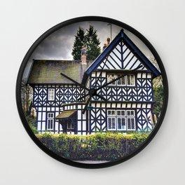 Tudor Home Wall Clock