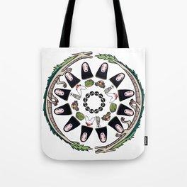 SPIRITED AWAY MANDALA Tote Bag