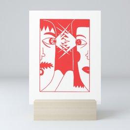 look Mini Art Print
