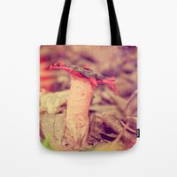poetry Tote Bags featuring Poetry by Light Wanderer