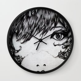 3 Bites Wall Clock