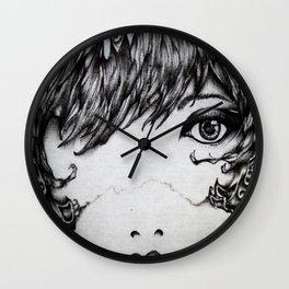 3 Bites Wall Clock
