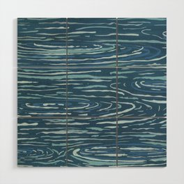 Ripples Wood Wall Art